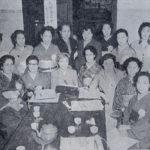 第一回東京都美容師試験委員。右列左端が永車梅野